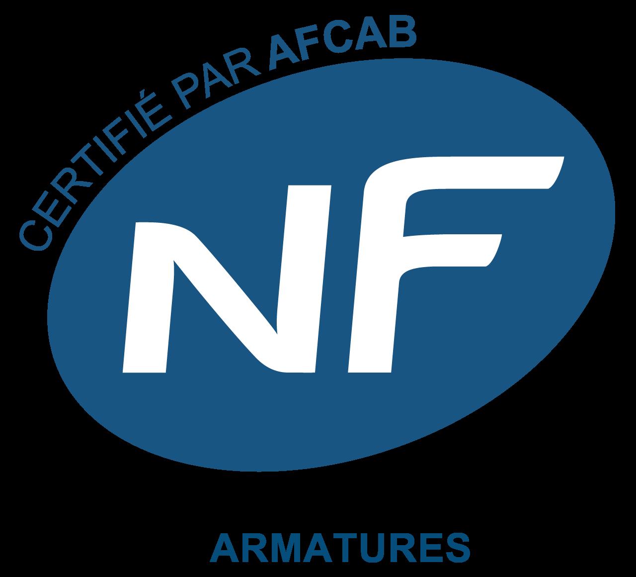 AFCAB-AFNOR-ARMATURE